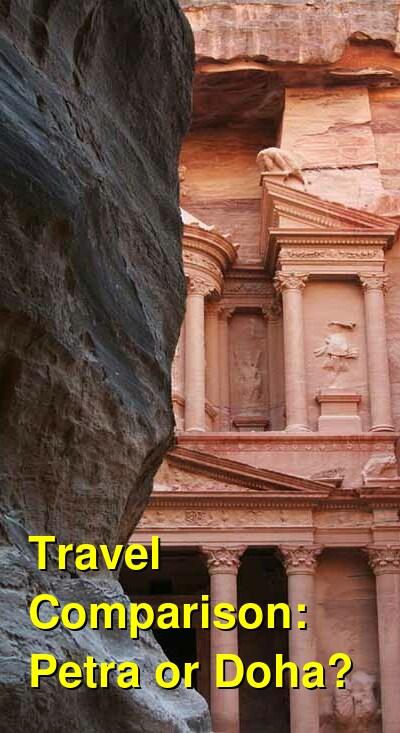 Petra vs. Doha Travel Comparison