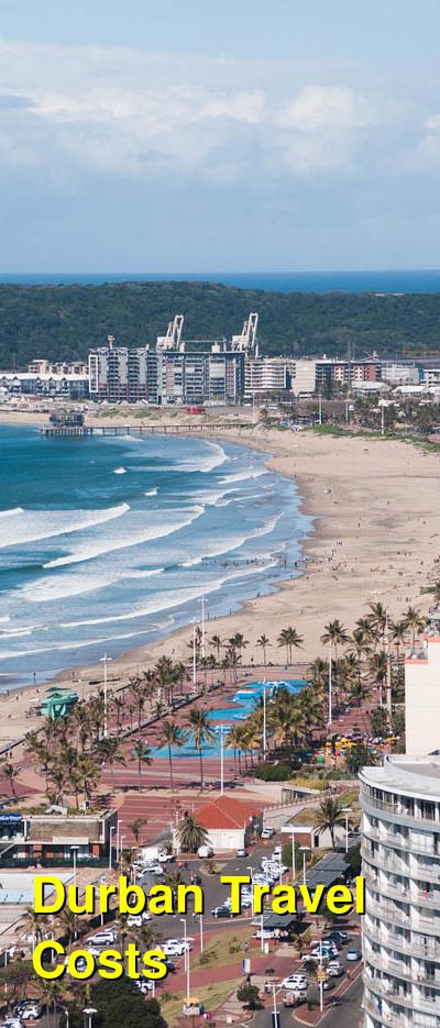 Durban Travel Cost - Average Price of a Vacation to Durban: Food & Meal Budget, Daily & Weekly Expenses | BudgetYourTrip.com