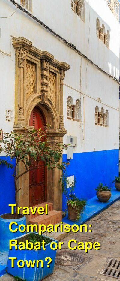 Rabat vs. Cape Town Travel Comparison