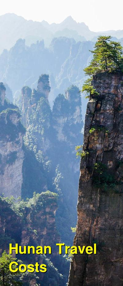 Hunan Travel Cost - Average Price of a Vacation to Hunan: Food & Meal Budget, Daily & Weekly Expenses | BudgetYourTrip.com