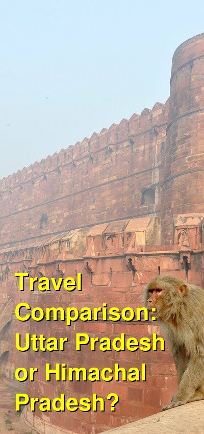 Uttar Pradesh vs. Himachal Pradesh Travel Comparison