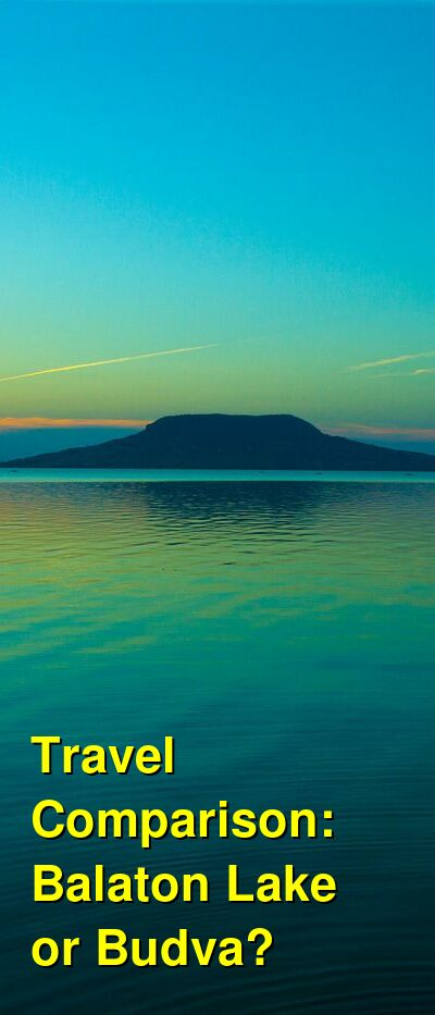 Balaton Lake vs. Budva Travel Comparison
