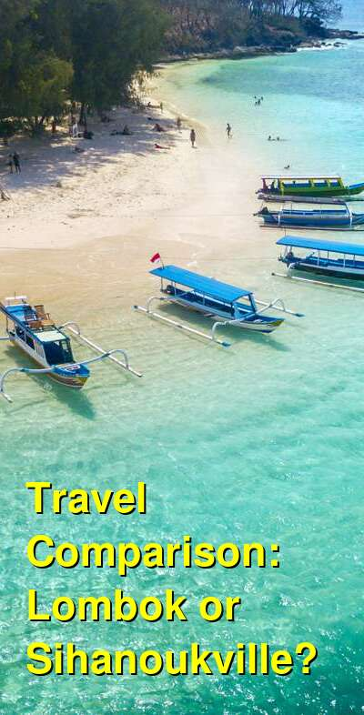 Lombok vs. Sihanoukville Travel Comparison