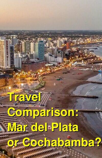 Mar del Plata vs. Cochabamba Travel Comparison