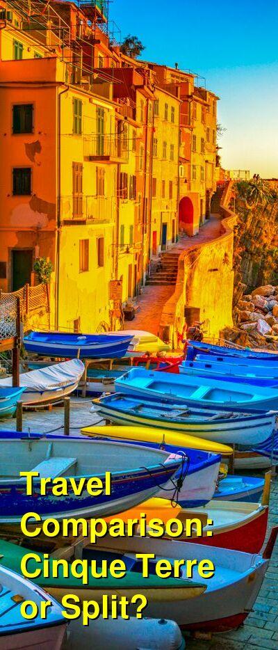 Cinque Terre vs. Split Travel Comparison
