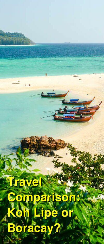Koh Lipe vs. Boracay Travel Comparison