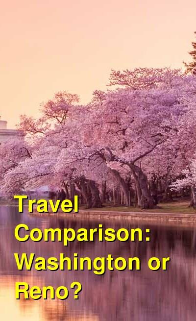 Washington vs. Reno Travel Comparison