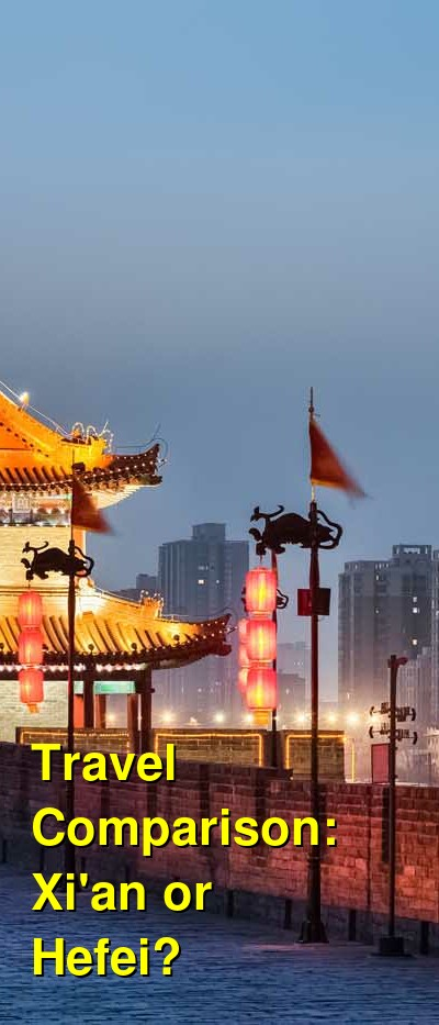 Xi'an vs. Hefei Travel Comparison