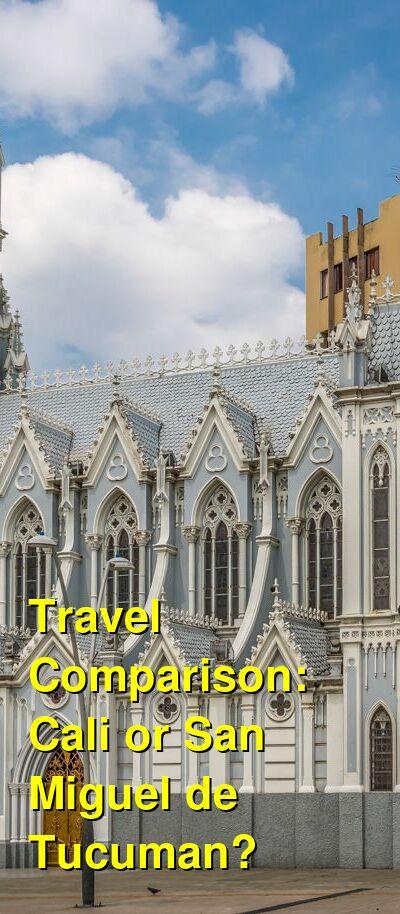 Cali vs. San Miguel de Tucuman Travel Comparison