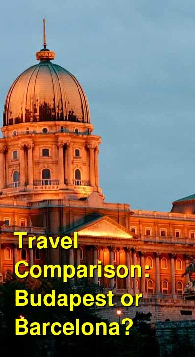 Budapest vs. Barcelona Travel Comparison