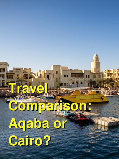 Aqaba vs. Cairo Travel Comparison