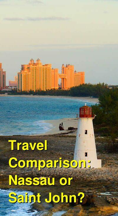 Nassau vs. Saint John Travel Comparison