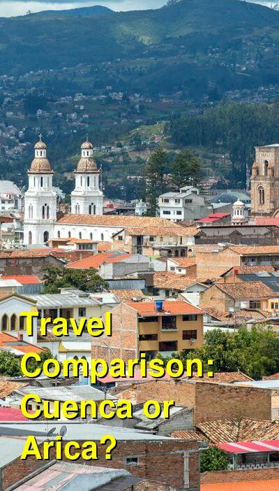 Cuenca vs. Arica Travel Comparison