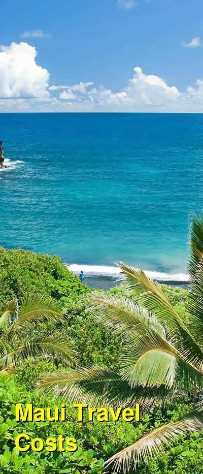 Maui Travel Costs & Prices - Beaches, Halaekala, Iao Valley, Makena, and Hana | BudgetYourTrip.com