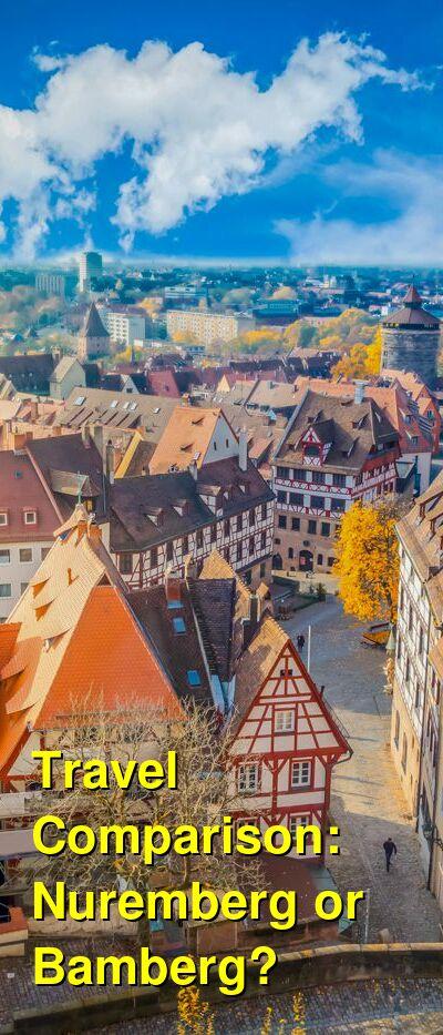 Nuremberg vs. Bamberg Travel Comparison