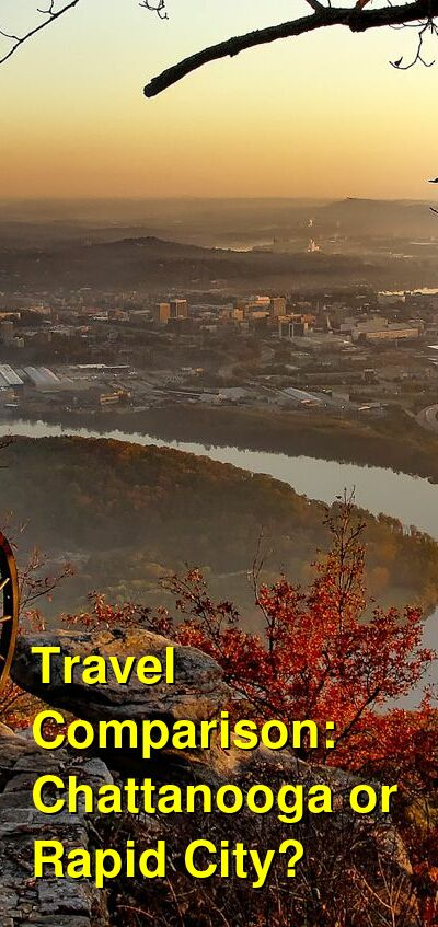 Chattanooga vs. Rapid City Travel Comparison