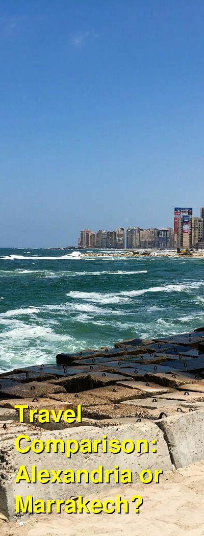 Alexandria vs. Marrakech Travel Comparison