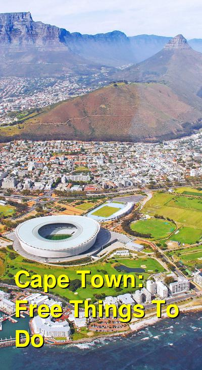 Free Things to do in Cape Town, South Africa | Budget Your Trip