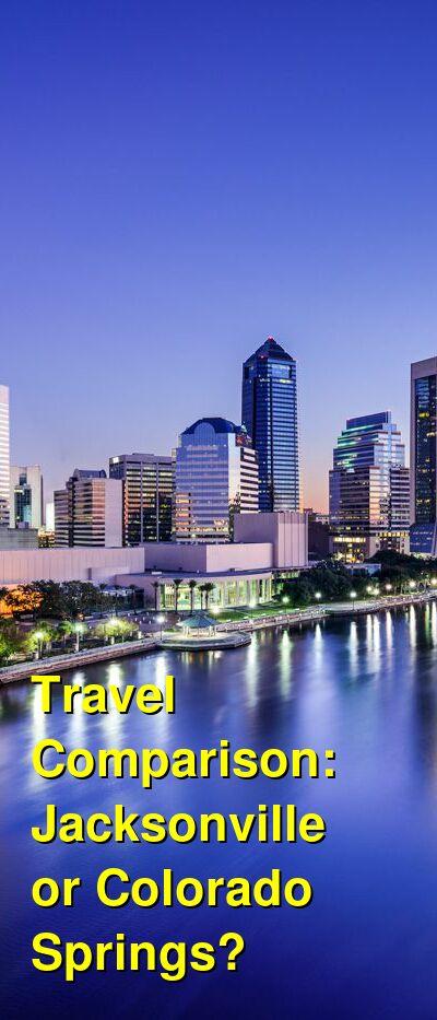 Jacksonville vs. Colorado Springs Travel Comparison