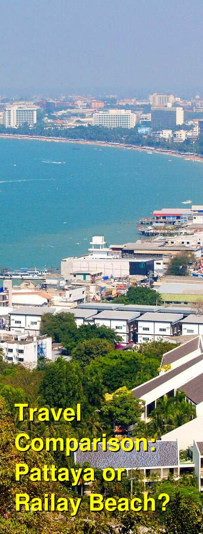 Pattaya vs. Railay Beach Travel Comparison