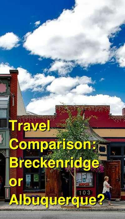 Breckenridge vs. Albuquerque Travel Comparison