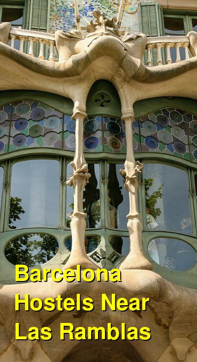 Barcelona Hostels Near Las Ramblas | Budget Your Trip