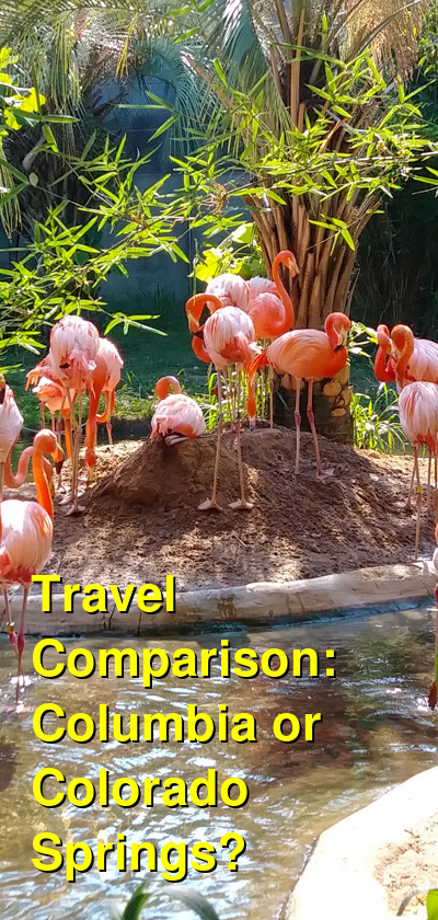 Columbia vs. Colorado Springs Travel Comparison