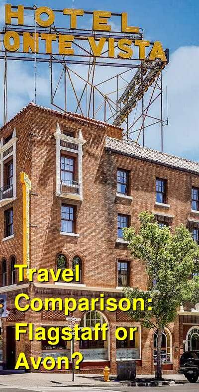 Flagstaff vs. Avon Travel Comparison