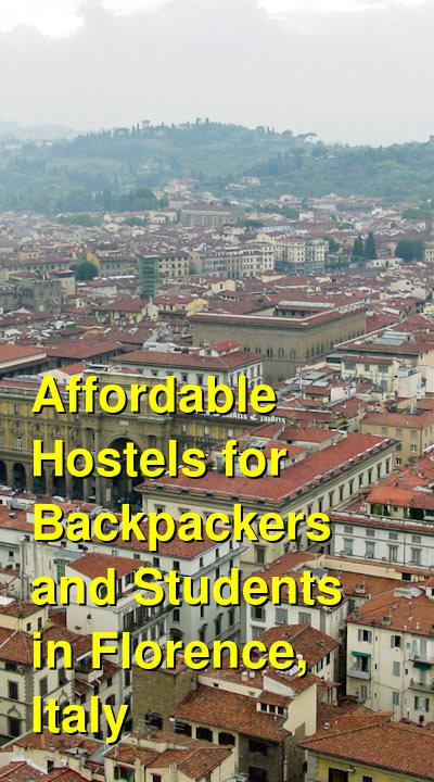 Affordable Hostels for Backpackers and Students in Florence, Italy | Budget Your Trip