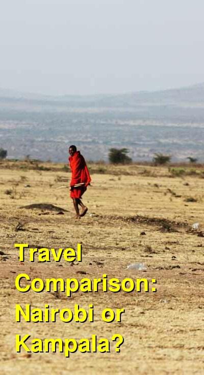 Nairobi vs. Kampala Travel Comparison