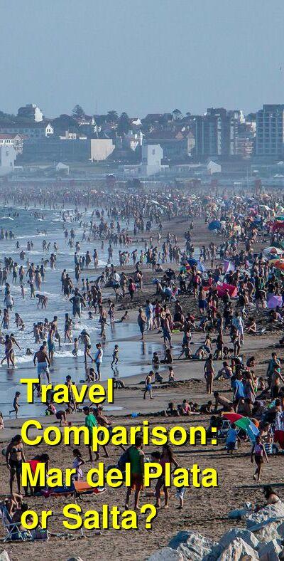 Mar del Plata vs. Salta Travel Comparison