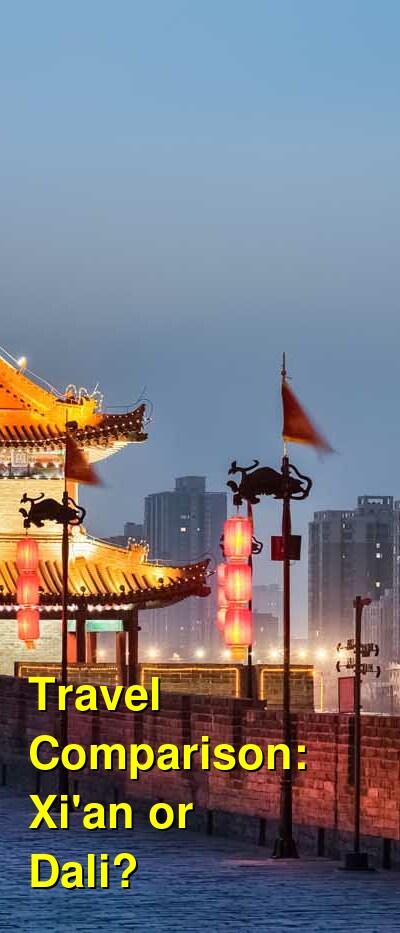Xi'an vs. Dali Travel Comparison