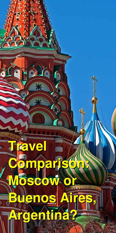 Moscow vs. Buenos Aires, Argentina Travel Comparison