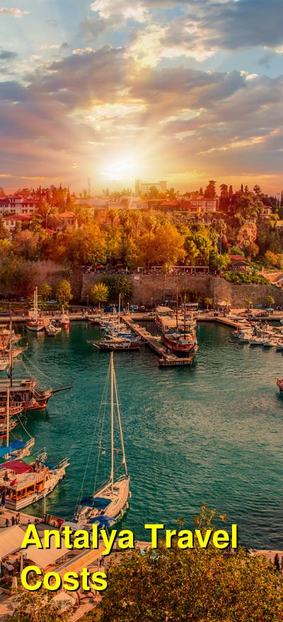 Antalya Travel Cost - Average Price of a Vacation to Antalya: Food & Meal Budget, Daily & Weekly Expenses | BudgetYourTrip.com