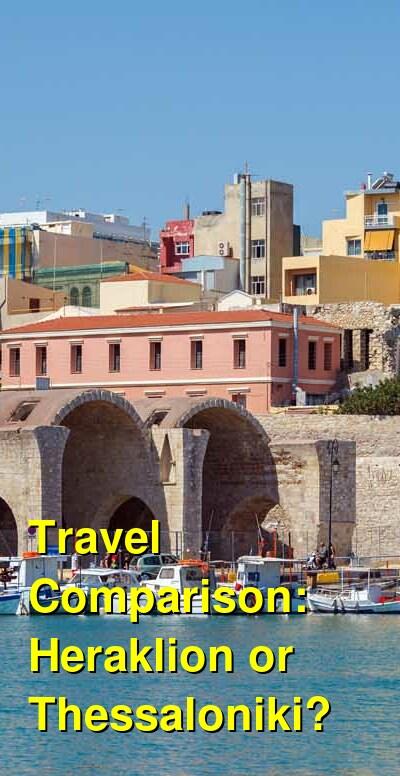 Heraklion vs. Thessaloniki Travel Comparison