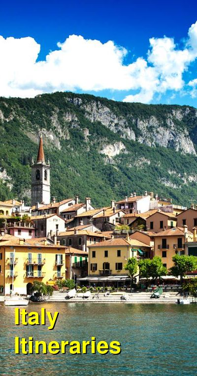 Italy Suggested Itineraries | BudgetYourTrip.com