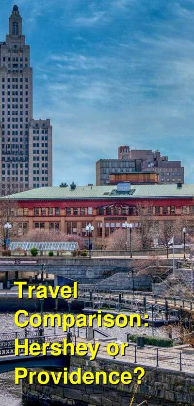Hershey vs. Providence Travel Comparison