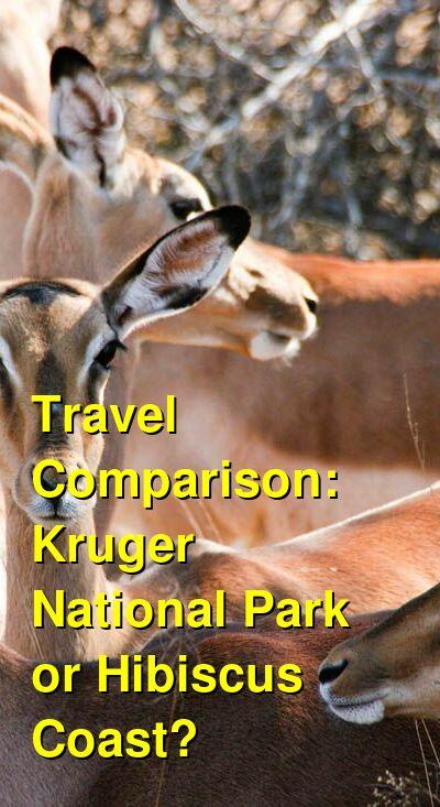 Kruger National Park vs. Hibiscus Coast Travel Comparison