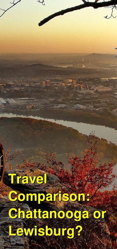 Chattanooga vs. Lewisburg Travel Comparison