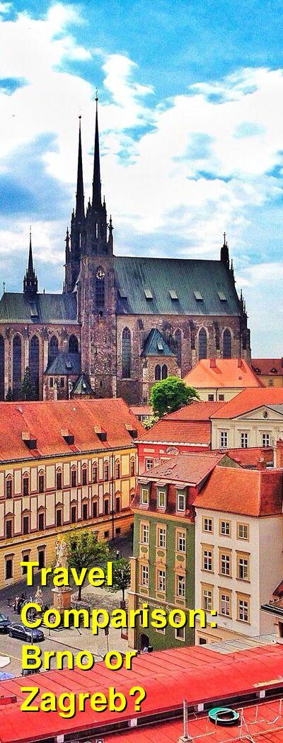 Brno vs. Zagreb Travel Comparison