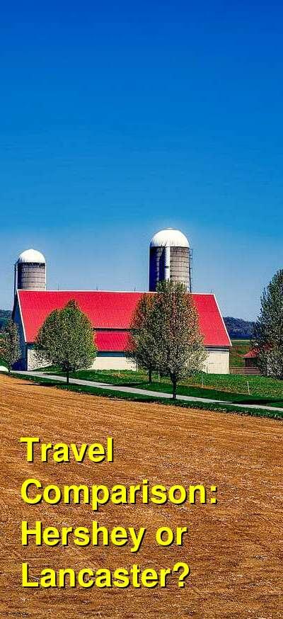 Hershey vs. Lancaster Travel Comparison