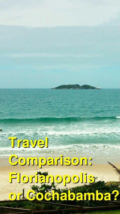 Florianopolis vs. Cochabamba Travel Comparison