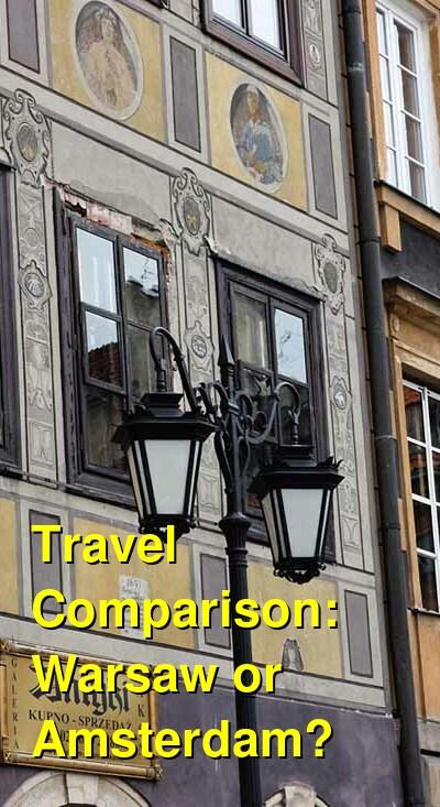 Warsaw vs. Amsterdam Travel Comparison