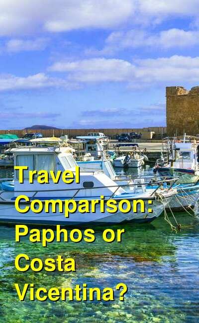Paphos vs. Costa Vicentina Travel Comparison