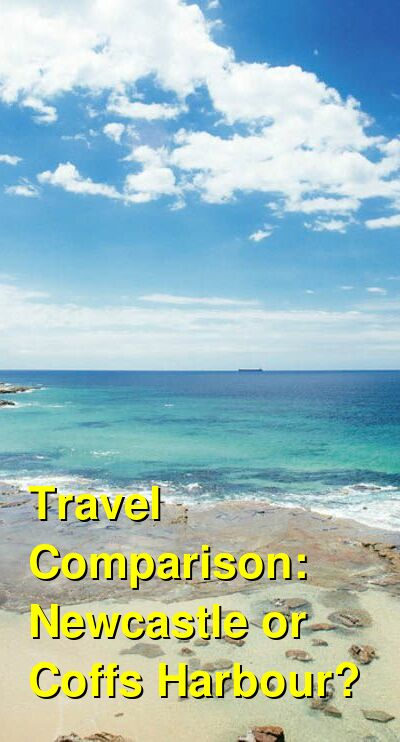 Newcastle vs. Coffs Harbour Travel Comparison