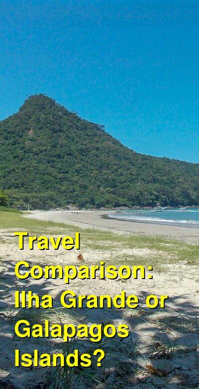 Ilha Grande vs. Galapagos Islands Travel Comparison