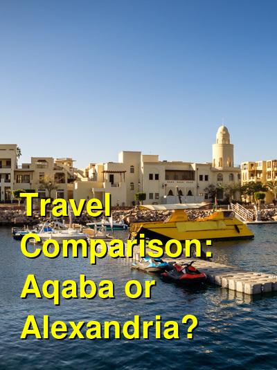 Aqaba vs. Alexandria Travel Comparison