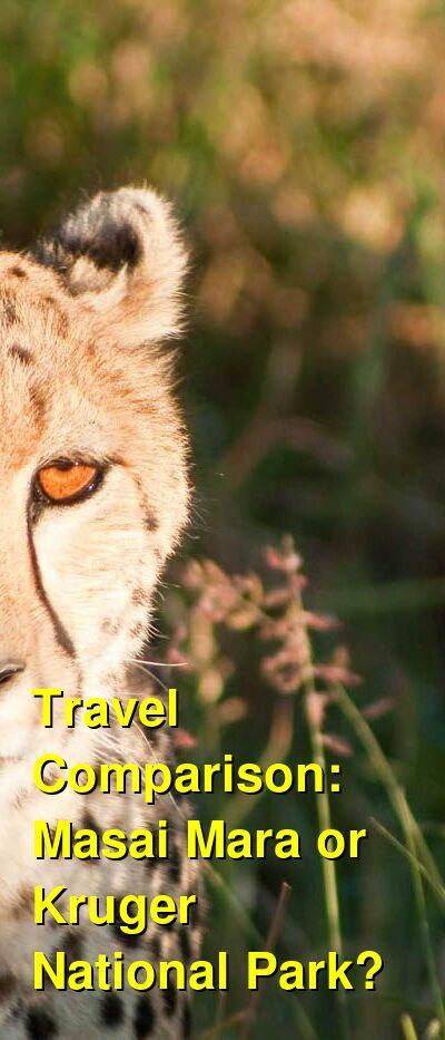 Masai Mara vs. Kruger National Park Travel Comparison