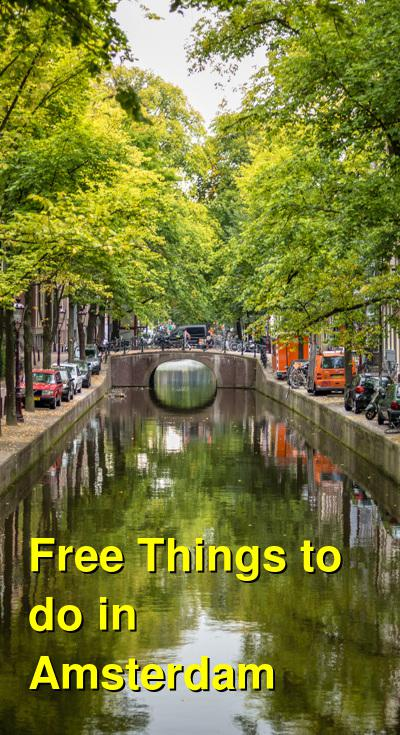 Free Things to do in Amsterdam | Budget Your Trip