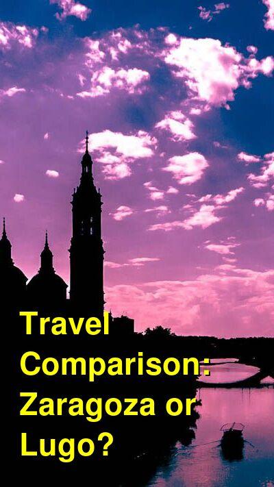 Zaragoza vs. Lugo Travel Comparison
